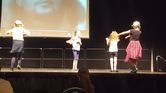 Some of Chloe's half-term dance workshop showing their moves 3