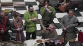 Jorfors Hall Viking re-enactment group Living History display 3