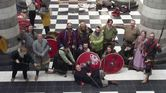 Jorfors Hall Viking re-enactment group Living History display 6