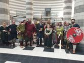 Jorfors Hall Viking re-enactment group with David Solomons 1