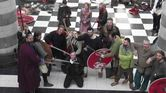 Jorfors Hall Viking re-enactment group with Sound Man Wayne 2