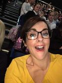 Liz Million in selfie with audience shocker